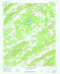Ashville Alabama Historical topographic map, 1:24000 scale, 7.5 X 7.5 Minute, Year 1958