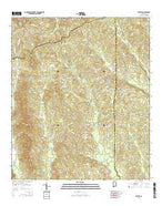 Bethel Alabama Current topographic map, 1:24000 scale, 7.5 X 7.5 Minute, Year 2014 from Alabama Map Store