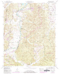 Bishop Alabama Historical topographic map, 1:24000 scale, 7.5 X 7.5 Minute, Year 1950