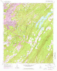 Cahaba Heights Alabama Historical topographic map, 1:24000 scale, 7.5 X 7.5 Minute, Year 1959