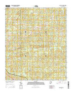 Camp Hill SE Alabama Current topographic map, 1:24000 scale, 7.5 X 7.5 Minute, Year 2014 from Alabama Map Store