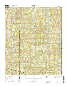 Camp Hill SE Alabama Current topographic map, 1:24000 scale, 7.5 X 7.5 Minute, Year 2014