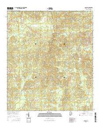 Chatom Alabama Current topographic map, 1:24000 scale, 7.5 X 7.5 Minute, Year 2014