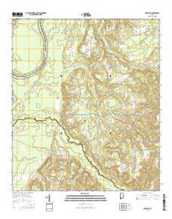 Chrysler Alabama Current topographic map, 1:24000 scale, 7.5 X 7.5 Minute, Year 2014