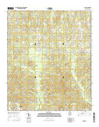 Claud Alabama Current topographic map, 1:24000 scale, 7.5 X 7.5 Minute, Year 2014