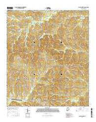 Clayton North Alabama Current topographic map, 1:24000 scale, 7.5 X 7.5 Minute, Year 2014
