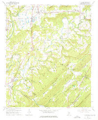 Cleveland Alabama Historical topographic map, 1:24000 scale, 7.5 X 7.5 Minute, Year 1958