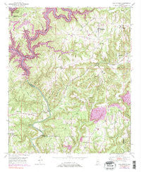 Cold Springs Alabama Historical topographic map, 1:24000 scale, 7.5 X 7.5 Minute, Year 1949