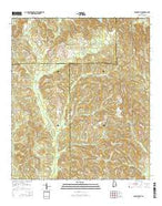 Danielsville Alabama Current topographic map, 1:24000 scale, 7.5 X 7.5 Minute, Year 2014 from Alabama Map Store