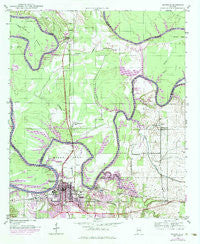 Demopolis Alabama Historical topographic map, 1:24000 scale, 7.5 X 7.5 Minute, Year 1946