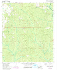 Dogwood Creek Alabama Historical topographic map, 1:24000 scale, 7.5 X 7.5 Minute, Year 1978