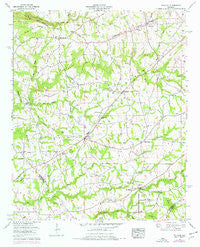 Douglas Alabama Historical topographic map, 1:24000 scale, 7.5 X 7.5 Minute, Year 1958