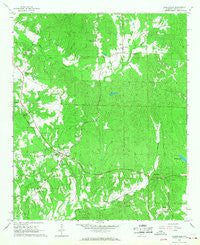 Ethelsville Alabama Historical topographic map, 1:24000 scale, 7.5 X 7.5 Minute, Year 1966
