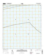Fort Morgan NW Alabama Current topographic map, 1:24000 scale, 7.5 X 7.5 Minute, Year 2014 from Alabama Maps Store