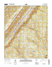 Fort Payne Alabama Current topographic map, 1:24000 scale, 7.5 X 7.5 Minute, Year 2014 from Alabama Maps Store