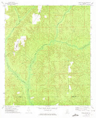 Frisco City SE Alabama Historical topographic map, 1:24000 scale, 7.5 X 7.5 Minute, Year 1972