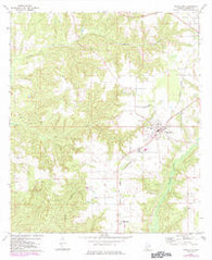 Frisco City Alabama Historical topographic map, 1:24000 scale, 7.5 X 7.5 Minute, Year 1972