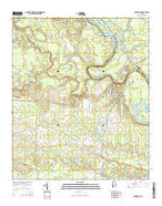 Gainesville Alabama Current topographic map, 1:24000 scale, 7.5 X 7.5 Minute, Year 2014 from Alabama Map Store