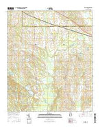 Gallion Alabama Current topographic map, 1:24000 scale, 7.5 X 7.5 Minute, Year 2014 from Alabama Map Store