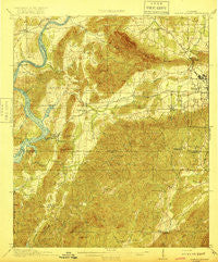 Gantts Quarry Alabama Historical topographic map, 1:62500 scale, 15 X 15 Minute, Year 1917