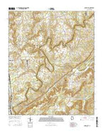 Garden City Alabama Current topographic map, 1:24000 scale, 7.5 X 7.5 Minute, Year 2014 from Alabama Map Store