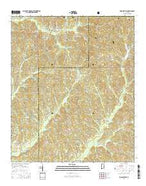 Hogglesville Alabama Current topographic map, 1:24000 scale, 7.5 X 7.5 Minute, Year 2014 from Alabama Map Store