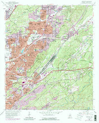 Irondale Alabama Historical topographic map, 1:24000 scale, 7.5 X 7.5 Minute, Year 1959