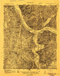 Iuka Mississippi Historical topographic map, 1:48000 scale, 15 X 15 Minute, Year 1911
