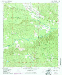 Jachin Alabama Historical topographic map, 1:24000 scale, 7.5 X 7.5 Minute, Year 1978