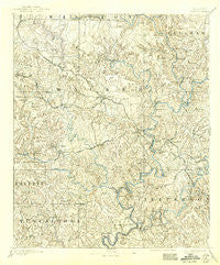Jasper Alabama Historical topographic map, 1:125000 scale, 30 X 30 Minute, Year 1893