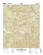 Jemison West Alabama Current topographic map, 1:24000 scale, 7.5 X 7.5 Minute, Year 2014 from Alabama Map Store