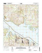 Jones Crossroads Alabama Current topographic map, 1:24000 scale, 7.5 X 7.5 Minute, Year 2014 from Alabama Map Store
