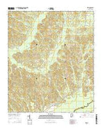 Kirk Alabama Current topographic map, 1:24000 scale, 7.5 X 7.5 Minute, Year 2014 from Alabama Map Store