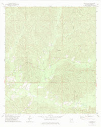 McEntyre Alabama Historical topographic map, 1:24000 scale, 7.5 X 7.5 Minute, Year 1978
