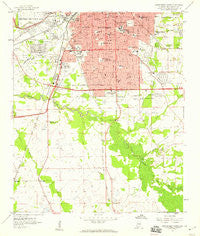 Montgomery South Alabama Historical topographic map, 1:24000 scale, 7.5 X 7.5 Minute, Year 1958