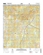 Notasulga Alabama Current topographic map, 1:24000 scale, 7.5 X 7.5 Minute, Year 2014 from Alabama Map Store