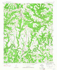 Phil Campbell Alabama Historical topographic map, 1:24000 scale, 7.5 X 7.5 Minute, Year 1946