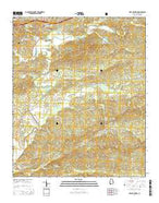 Ross Mountain Alabama Current topographic map, 1:24000 scale, 7.5 X 7.5 Minute, Year 2014 from Alabama Map Store