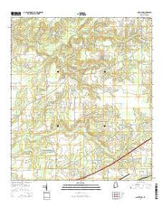 Saint Elmo Alabama Current topographic map, 1:24000 scale, 7.5 X 7.5 Minute, Year 2014 from Alabama Maps Store