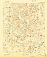Scottsboro Alabama Historical topographic map, 1:125000 scale, 30 X 30 Minute, Year 1892