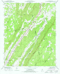 Sulphur Springs Alabama Historical topographic map, 1:24000 scale, 7.5 X 7.5 Minute, Year 1946