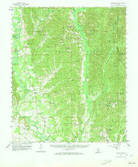 Summerfield Alabama Historical topographic map, 1:62500 scale, 15 X 15 Minute, Year 1959