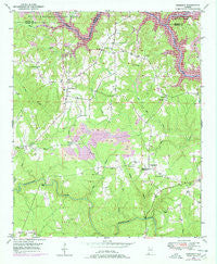 Sunlight Alabama Historical topographic map, 1:24000 scale, 7.5 X 7.5 Minute, Year 1949