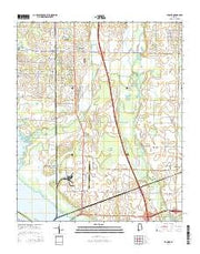 Tanner Alabama Current topographic map, 1:24000 scale, 7.5 X 7.5 Minute, Year 2014 from Alabama Maps Store