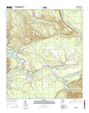 Tasso Alabama Current topographic map, 1:24000 scale, 7.5 X 7.5 Minute, Year 2014 from Alabama Maps Store