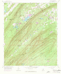 Vandiver Alabama Historical topographic map, 1:24000 scale, 7.5 X 7.5 Minute, Year 1959