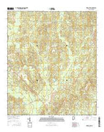 Vinegar Bend Alabama Current topographic map, 1:24000 scale, 7.5 X 7.5 Minute, Year 2014 from Alabama Map Store