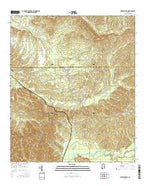 Vredenburgh Alabama Current topographic map, 1:24000 scale, 7.5 X 7.5 Minute, Year 2014 from Alabama Map Store