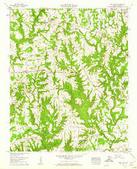 West Point Alabama Historical topographic map, 1:24000 scale, 7.5 X 7.5 Minute, Year 1958