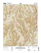 West Point Alabama Current topographic map, 1:24000 scale, 7.5 X 7.5 Minute, Year 2014 from Alabama Map Store